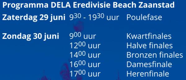 programma beachvolleybal Zaanstad